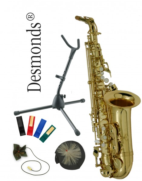 Desmonds Alt Saxophon AS-302 Paket