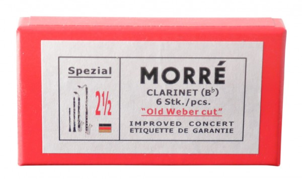 Morré Old Weber Cut B-Klarinette deutsch